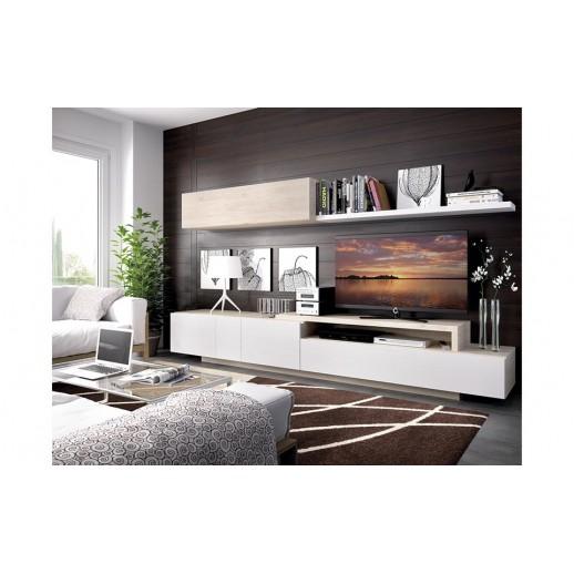Ambientes salones modernos acabado natural blanco sat n for Salones modernos blancos