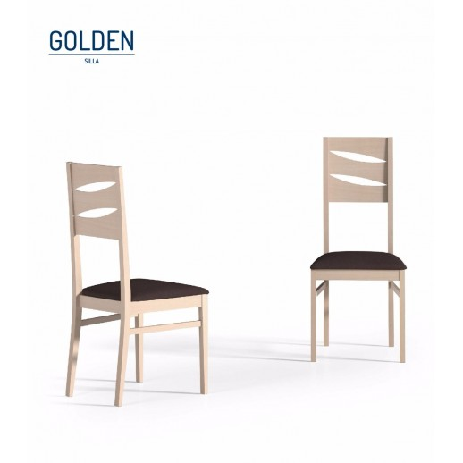 Silla de comedor modelo golden for Rebajas sillas comedor
