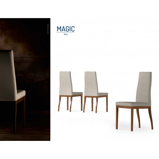 Silla de comedor moderna magic for Fabricantes sillas modernas
