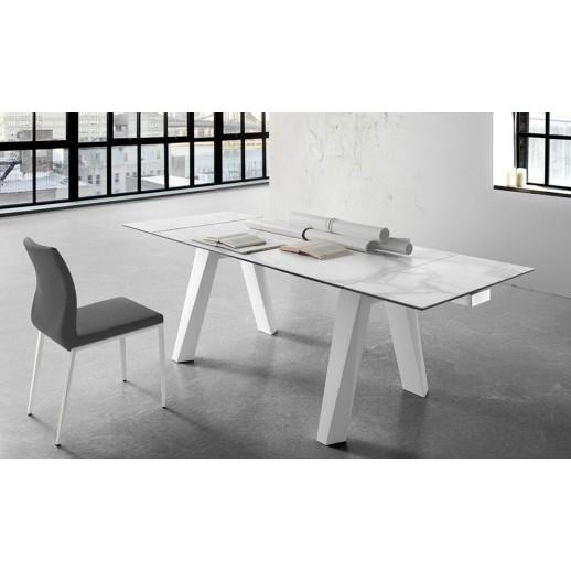 Mesa de comedor moderna extensible - Mesas comedor modernas extensibles ...