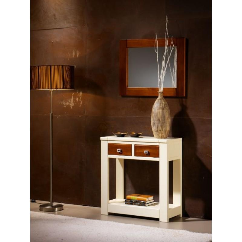 Entrada moderna c nsola 2 cajones - Consola muebles entrada ...