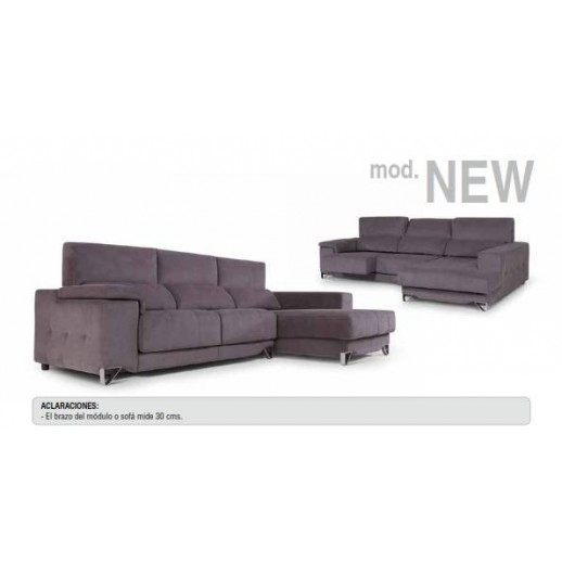 CHAISE LONGUE CON ASIENTOS EXTRAÍBLES Y RESPALDOS RECLINABLES on chaise furniture, chaise sofa sleeper, chaise recliner chair,