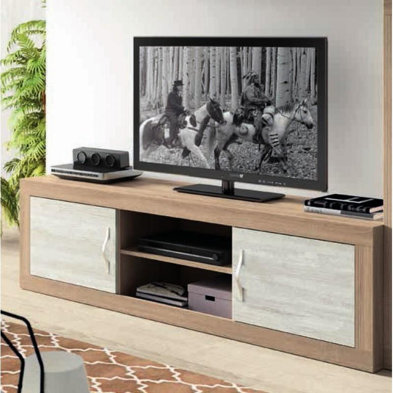 Mueble tv 180 con 2 puertas moon color cambrian artic - Mueble para tv con puertas ...