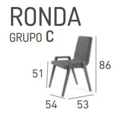 SILLA DE COMEDOR MODELO RONDA
